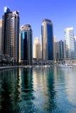Dubai Marina. Lake, day time Royalty Free Stock Images