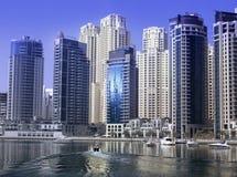 Dubai Marina. Lake, day time Stock Photography