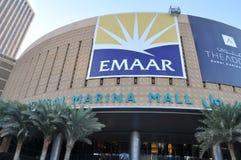 Dubai Marina Mall in the UAE Royalty Free Stock Photography