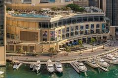 Dubai Marina Mall Stock Photography
