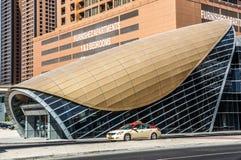 Dubai Marina Metro Station, United Arab Emirates stock photography