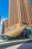 Dubai Marina Metro Station, United Arab Emirates Stock Images