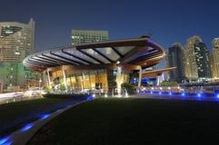 Dubai Marina at night Royalty Free Stock Photo