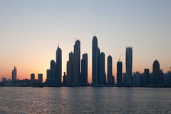 Dubai Marina skyline Stock Photos