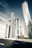 Dubai Marina Skyline Stock Image