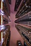Dubai marina skyline Stock Photography
