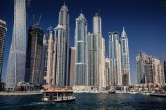 Dubai Marina skyline. Stock Photos