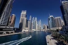 Dubai Marina skyline. Royalty Free Stock Photos