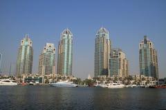 Dubai Marina Skyscrapers Stock Image