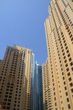 Dubai Marina Skyscrapers Stock Images