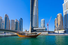 Dubai Marina Royalty Free Stock Photos