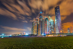 Dubai Marina. The Tallest Block of Dubai Marina Royalty Free Stock Photos