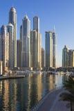 Dubai Marina Towers Arkivbilder