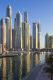 Dubai Marina Towers Stock Images