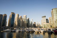 Dubai Marina, UAE. Royalty Free Stock Images