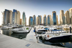 Dubai Marina, UAE. Stock Photo