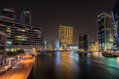 Dubai Marina in the UAE Royalty Free Stock Photography