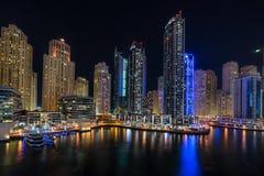 Dubai Marina in the UAE Royalty Free Stock Image