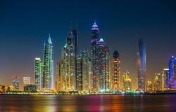 Dubai Marina. UAE Royalty Free Stock Photos
