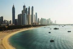Dubai Marina. UAE Royalty Free Stock Photo