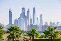 Dubai Marina. UAE Royalty Free Stock Photography