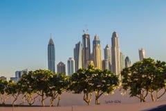 Dubai Marina. UAE Stock Image