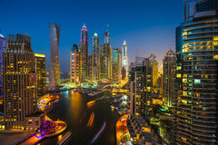Dubai Marina. UAE Stock Images