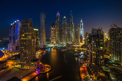 Dubai Marina. UAE Royalty Free Stock Photo