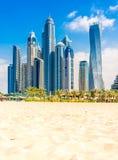 Dubai Marina, UAE. Stock Images