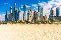 Dubai Marina, UAE. Stock Image