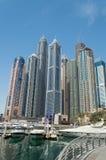 Dubai Marina in UAE Stock Photo