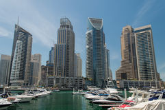 Dubai Marina in UAE Stock Photography