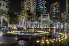 Dubai Marina in the UAE Stock Photography