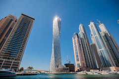Dubai Marina. United Aarab Emirates royalty free stock image