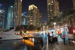 Dubai Marina, United Arab Emirates #07 Stock Image