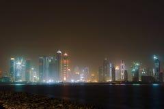 Dubai marina view Stock Image