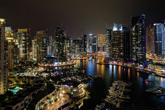 Dubai Marina view,Dubai,UAE Royalty Free Stock Photography