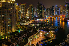 Dubai Marina view,Dubai,UAE Stock Photos