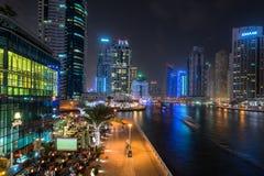 Dubai Marina walk Stock Photo