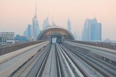 dubai metro Zdjęcie Stock