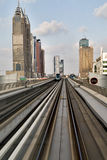 Dubai Metro Royalty Free Stock Photos