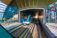 Dubai Metro Royalty Free Stock Photography