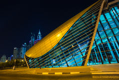 Dubai Metro as world's longest fully automated metro network (75 Royalty Free Stock Images