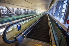 Dubai Metro as world's longest fully automated metro network (75. DUBAI, UAE - NOVEMBER 11: Dubai Metro as world's longest fully automated metro network (75 km) stock images