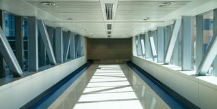 Dubai Metro interior Stock Photography