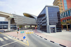 Dubai Metro Terminal Stock Photography