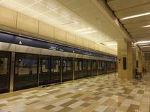 Dubai Metro Terminal in the UAE Royalty Free Stock Photos