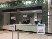 Dubai Metro Terminal in the UAE Royalty Free Stock Image