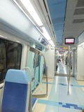 Dubai Metro Train royalty free stock photography