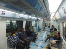 Dubai Metro Train Royalty Free Stock Images